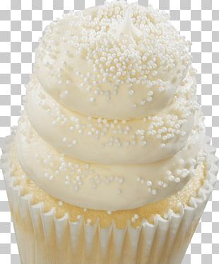 Cupcake Wedding Cake Buttercream PNG