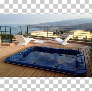 Hot Tub Swimming Pool Bathtub Furniture Terrace PNG