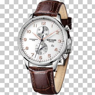 Watch Strap Clock Horology Leather PNG