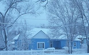 Winter Storm House Blizzard Snow PNG