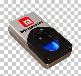 Laptop Fingerprint Scanner DigitalPersona PNG