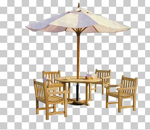 Table Umbrella Chair Awning PNG