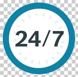 24/7 Service Logo Company PNG