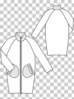 Drawing Sewing Burda Style Fashion Pattern PNG
