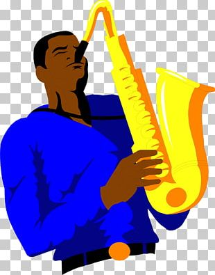 Saxophone Drawing PNG