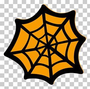 Spider Web Vorlage PNG