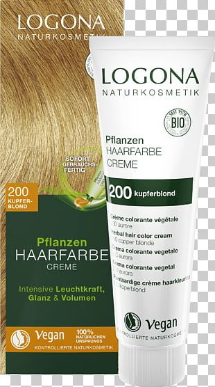 Lotion Hair Coloring Cream Human Hair Color Blond PNG