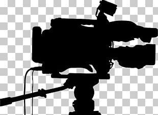 Video Cameras Professional Video Camera Silhouette PNG