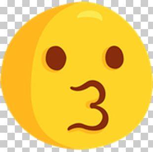Emoji Emoticon Smiley Facebook Kiss PNG