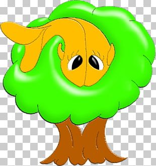 Flowering Plant Tree Character PNG