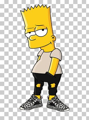 Bart Simpson Supreme PNG Images, Bart Simpson Supreme Clipart Free