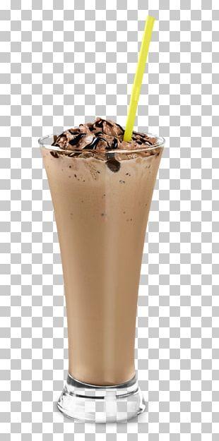 Chocolate Ice Cream Frappé Coffee Milkshake Iced Coffee PNG