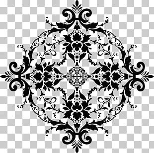 Floral Design Black And White Visual Arts PNG