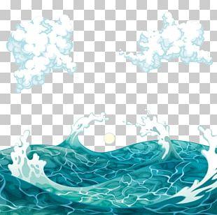 Sea Wind Wave Euclidean PNG