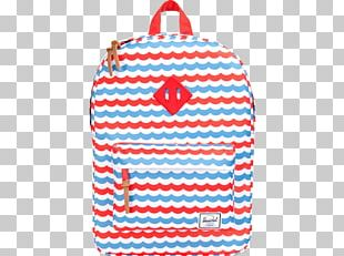 Blue Herschel Supply Co. Heritage Backpack Red PNG