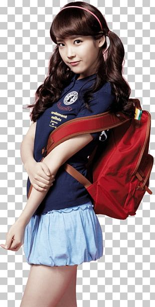 IU With Red Backpack PNG
