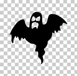 Ghost Silhouette Halloween PNG
