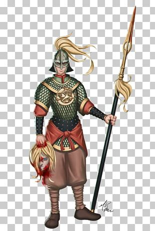 Knight The Woman Warrior Costume Design Weapon PNG