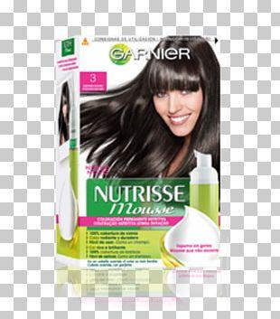 Hair Coloring Garnier Black Hair Human Hair Color PNG