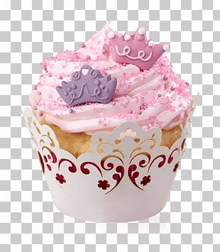 Cupcake Muffin Baking Frosting & Icing Petit Four PNG