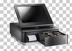 Point Of Sale Cash Register Printer Star Micronics Sales PNG