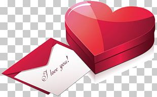 Gift Valentine's Day Heart PNG