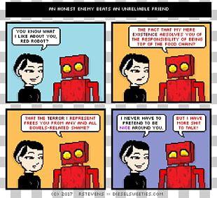 Comics Diesel Sweeties Comic Book Webcomic Robot PNG