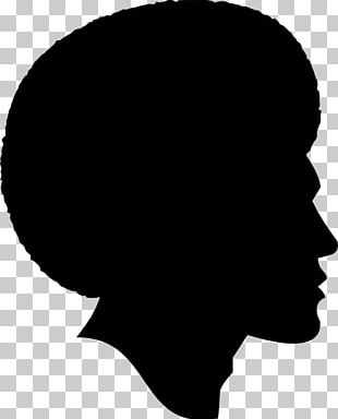 Silhouette African American Black PNG
