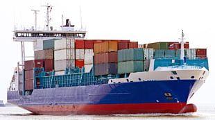 Cargo Ship PNG