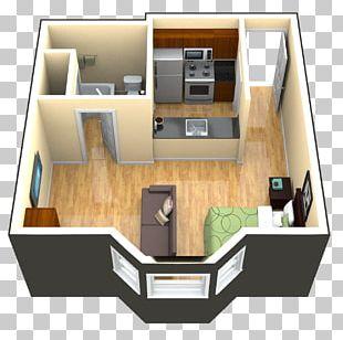 Studio Apartment House Bedroom Garage PNG