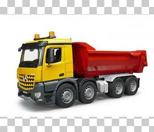Mercedes-Benz Arocs Mack Trucks Car Dump Truck PNG