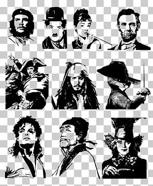 Silhouette Pirates Of The Caribbean Person PNG