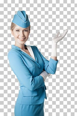 Flight Attendant Airplane Stock Photography Airline PNG