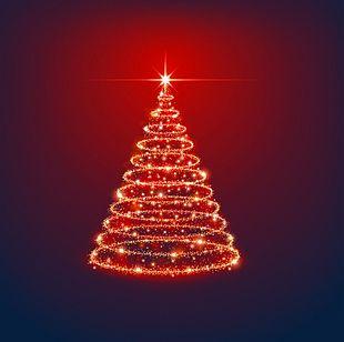 Star Christmas Tree PNG