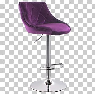 Bar Stool Chair Furniture Leather PNG