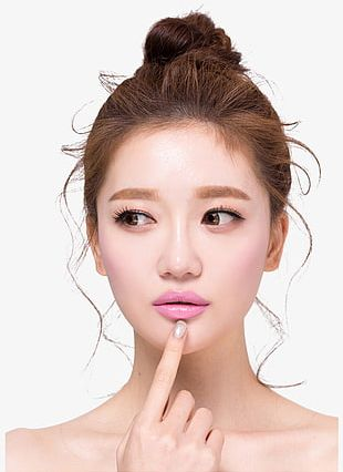 Korean Girls Makeup PNG
