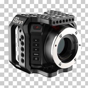 Blackmagic Cinema Camera Panasonic Lumix DC-GH5 Cage Blackmagic Design PNG
