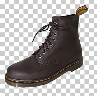 Boot Leather Shoe Dr. Martens Walking PNG