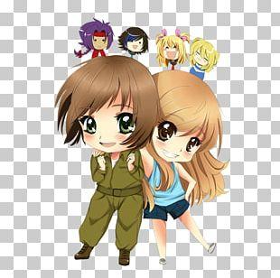 Brown Hair Mangaka Desktop Anime PNG
