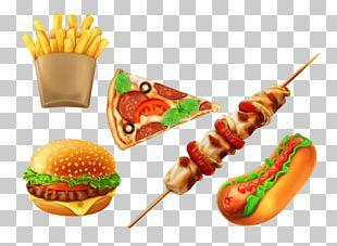 Hamburger Hot Dog Fast Food Junk Food PNG
