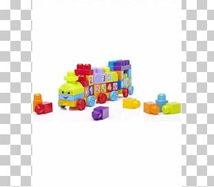 Toy Block Mega Bloks First Builders 123 Learning Train Mega Brands Mega Bloks First Builders 1-2-3 Learning Train! PNG