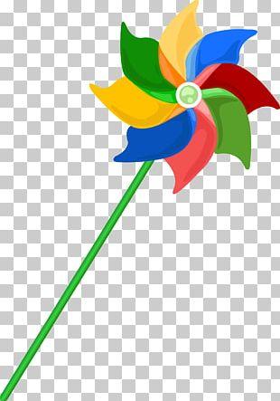 Paper Pinwheel PNG