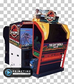 The Lost World: Jurassic Park Jurassic Park Arcade Area 51 Arcade Game PNG