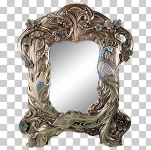 Mirror Art Nouveau Deco Frames Decorative Arts PNG