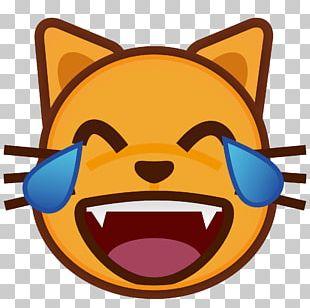 Emoji Cat Heart Sticker Eye PNG
