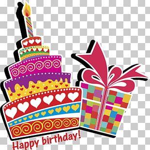 Birthday Cake Wedding Cake Banner PNG