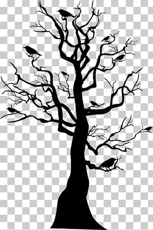Tree Skeleton Halloween PNG