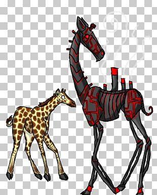 Giraffe Horse Graphics Neck Pack Animal PNG