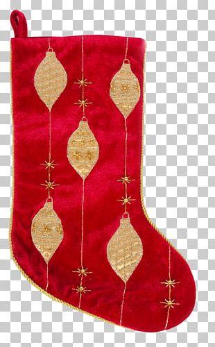 Sock Hosiery Christmas Santa Claus Gift PNG