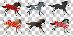 Mustang Dog Pack Animal Horse Tack PNG